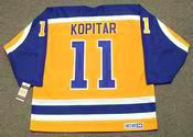ANZE KOPITAR Los Angeles Kings 1980's CCM Vintage Throwback NHL Hockey Jersey