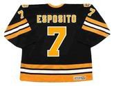 PHIL ESPOSITO Boston Bruins 1975 CCM Vintage Throwback Away NHL Hockey Jersey