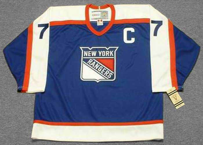 reputable site 100c1 cbbe3 PHIL ESPOSITO New York Rangers 1976 CCM Vintage Throwback NHL Hockey Jersey