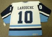PIERRE LAROUCHE Pittsburgh Penguins 1976 CCM Vintage Throwback NHL Jersey