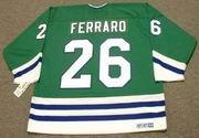 RAY FERRARO Hartford Whalers 1989 CCM Throwback Away NHL Hockey Jersey