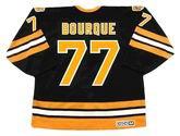 RAYMOND BOURQUE Boston Bruins 1990 CCM Throwback Away NHL Hockey Jersey