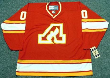 ATLANTA FLAMES 1970's CCM Vintage Custom NHL Jerseys - FRONT