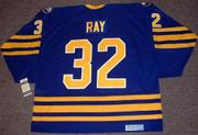 ROB RAY Buffalo Sabres 1992 CCM Vintage Throwback Away Hockey Jersey