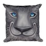 Square Pillow Furry Friend