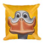 Square Pillow Happy Duck
