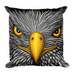 Square Pillow Eagle