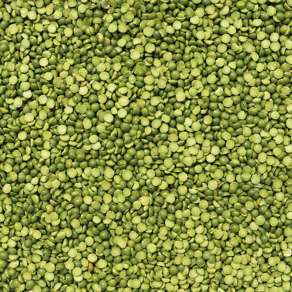 ORGANIC PEAS, green split