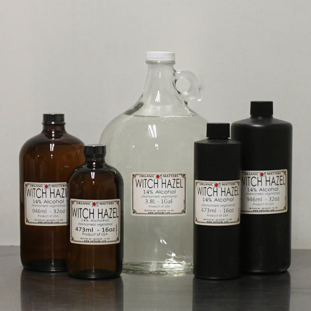WITCH HAZEL EXTRACT, 13% alcohol