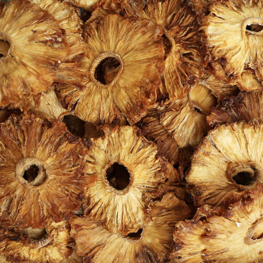 PINEAPPLE, dried, slices