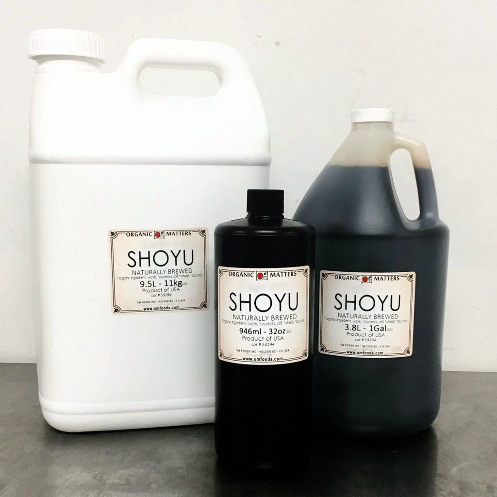 SHOYU, soy sauce, naturally brewed