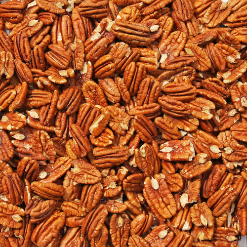 ORGANIC PECANS, fancy, mammoth halves