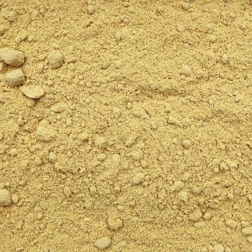 ORGANIC MUSTARD SEEDS, yellow, powder