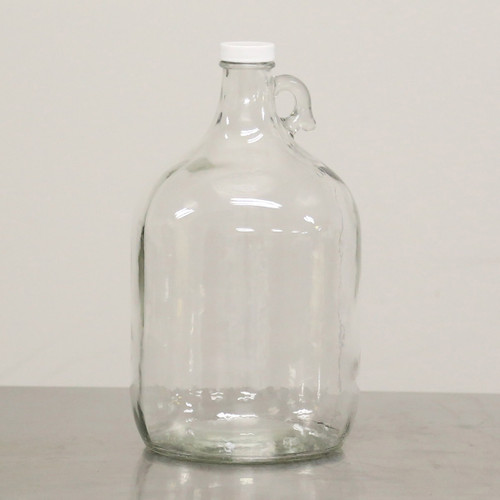1 GAL GLASS JUG, narrow neck, new