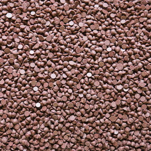 ORGANIC CHOCOLATE DROPS, 4000ct, 45%, semi sweet