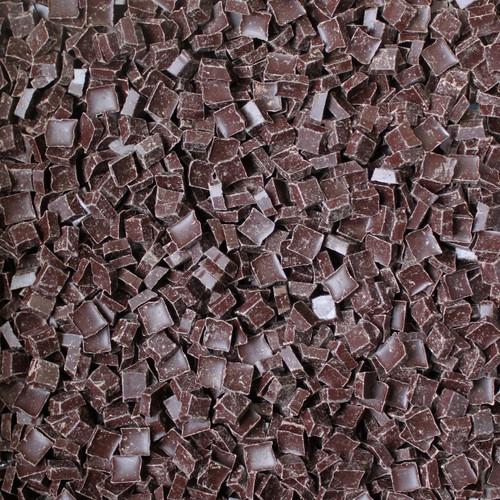 ORGANIC CHOCOLATE CHUNKS, 70% dark, bitter sweet