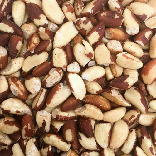 ORGANIC BRAZIL NUTS, raw, whole & pieces