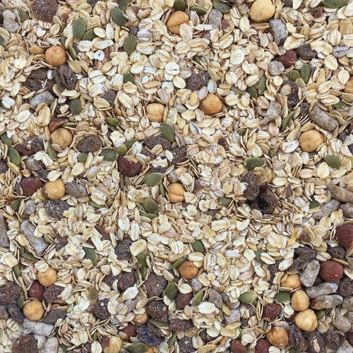 ORGANIC MUESLI MIX, multi-grain, spice