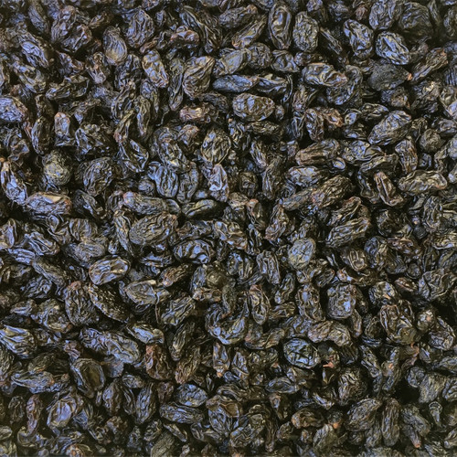 RAISINS, Autumn Royal, Jumbo Black, seedless, oil free