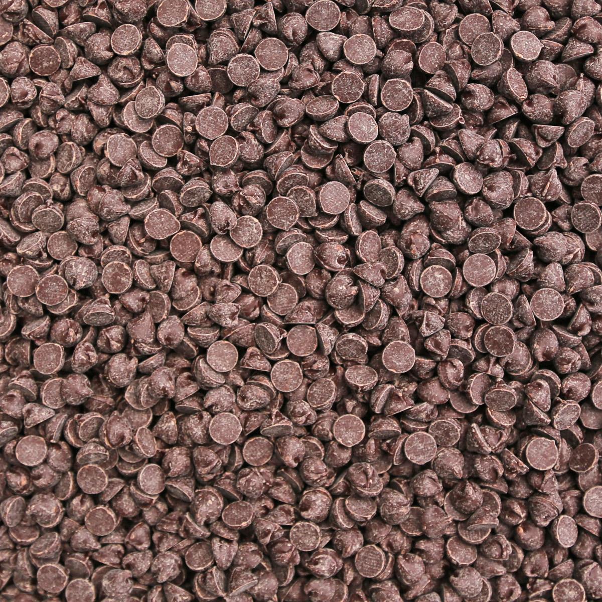 ORGANIC CHOCOLATE CHIPS, 1000CT, 45% SEMISWEET