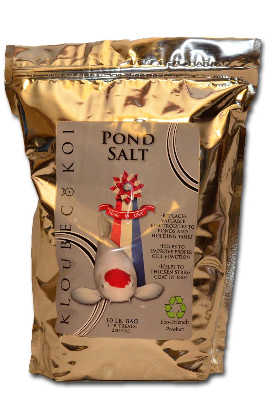 Pond salt koi fish pond salt kloubec koi farm for Salt in koi pond