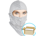 UV-Shield Silver Hood, Full-cover or Open-face style,  $1.55 Ea, 300 Hoods Per Case
