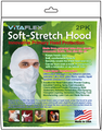 White, GSP Soft-stretch  Hood, Case of 72x 2-PK