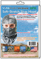 UV-Shield Silver Hood, Full-cover or Open-face style, Case of 36 x 6pk