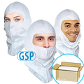 GSP Spray Hood, Open-face style, Aqua-blue or White, $1.32 ea, 300 Hoods Bulk Case