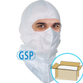 GSP Spray Hood, Full-cover style, Aqua-blue or White, $1.32 ea., 300 Hoods Bulk Case