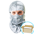 GS Dust Hood- Gray, Full-cover or Open-face style, $1.08 ea., 350 Hoods Bulk Case