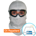 Oil-Repellent BioSafety (White Full-cover ) Hood, $3.35 Ea, 50 Hoods in a Dispenser Box, OUT OF STOCK