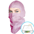 GS Dust Hood- Full-cover style, Pink, $1.68 ea, 100 hoods per pack