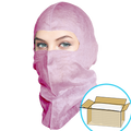 GS Dust Hood, Full-cover style, Pink, $1.15 ea., 400 Hoods Bulk Case