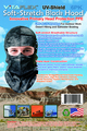 UV-Shield CamoGray Hood,  Retail Pack, 6 hoods/pack, 3 x 6PK