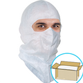 GS Dust Hood, Full-cover style, Aqua-blue or White, $1.02ea., 400 Hoods Bulk Case