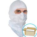 GS Dust Hood, Full-cover style, Aqua-blue or White, $1.15ea., 400 Hoods Bulk Case