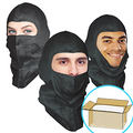 UV-Shield Black Hood, Open-Face style, $1.40 ea, 300 Hoods Bulk Case-For Repeat Customers ONLY