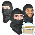 UV-Shield Black Hood, Open-Face style, $1.45 ea, 300 Hoods Bulk Case