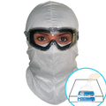 BioSafety (Full-cover) Hood, $2.65 Ea, 50 Hoods in a Dispenser Box