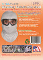 BioSafety Full-cover Hood, Case of 36 x 6PK