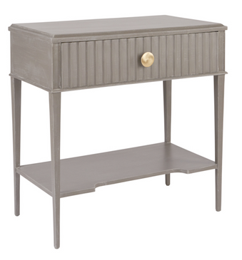 Webster Side Table in Charcoal