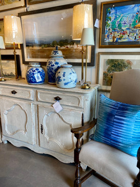 Antique Louis XV Sideboard from Provence
