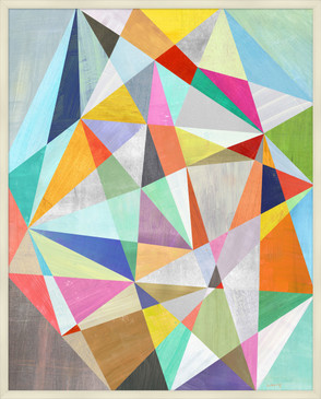 Abstract Kaleidoscope Print