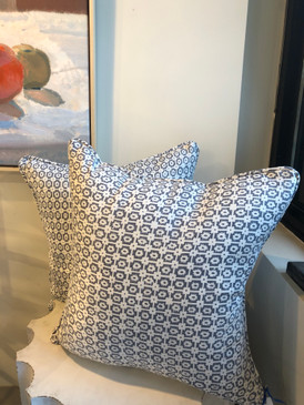 Grey Geo Pillow