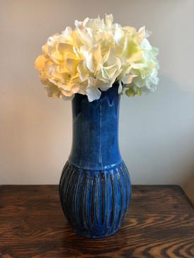 Charlie West Vase - Electric Blue