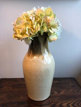 Charlie West Vase - Antique Cream