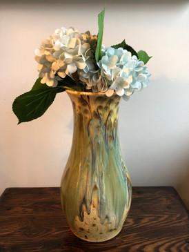 Charlie West Vase - Blue Hazelnut