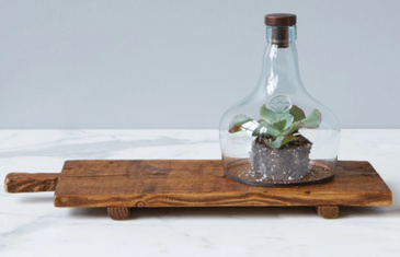 Bordeaux Footed Tray