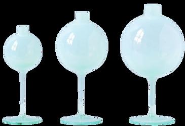 Opal Wine Glass Vases